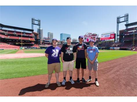 Busch Stadium Visit 2017