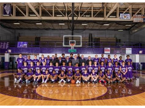 This year took a photo of the entire Boys Basketball Program.