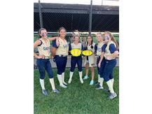 Corpus Christi 8th Softball players