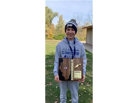 Eoin Kohn - Boys Individual Champion