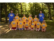 Inaugural Cross Country Team (2013)