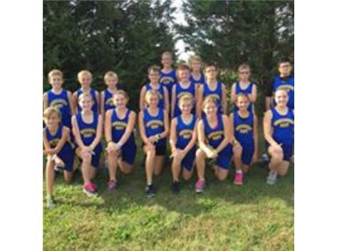 2016 Cross County Team