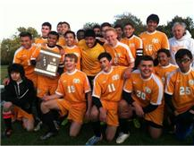 Our boys' after earning the 2013 IHSA Regional Championship!