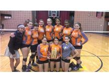 Varsity Volleyball wins GCAC White Division Title