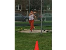 Steven Rivas throwing discus
