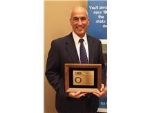 Dr. Quaid honored for his service to the IHSA