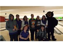 JV Team 2nd place United Township Panther Invite w/ Pete the Panther
