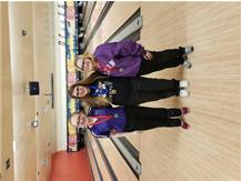 Grace DeBord , Kaitlyn Hansen, Abby Tate -- High game and High series awards