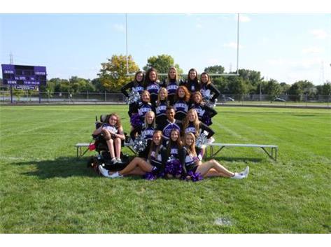 2016-17 Varsity Fall Cheerleading