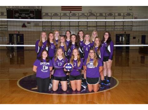 2016-17 Varsity Volleyball