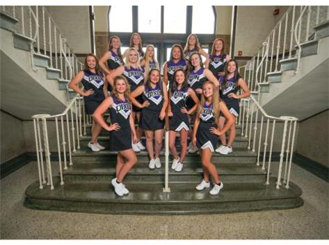 2017-18 Varsity Fall Cheerleading