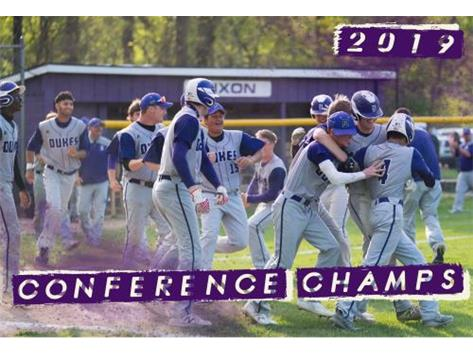 Dukes win 2019 Conference Championship for 1st time since 2000!  Go Dukes!!