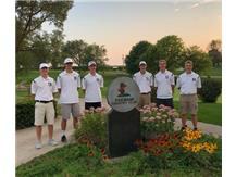 Left to Right:  David Miller (coach), Brodi Winge, Caleb Klecan, Weston Lareau, Andy Onnen, Dalton Anderson
