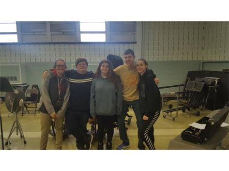 The following music students participated in the IHSA solo and ensemble contest this past Saturday.  The students received Division II {Excellent} Ratings; Emilee Tosh vocal solo, Hannah Smith, Hannah Schiel alto saxophone duet, Gabe Emerson vocal solo.  Division I {Superior} Ratings went to Gabe Emerson bass clarinet solo and Trevor Huffman french horn solo.  Trevor received a perfect score on hi solo.