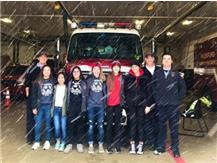 Girls Soccer brought Rockford Fire Department Station 3 donuts to show them how much we appreciate everything they do.