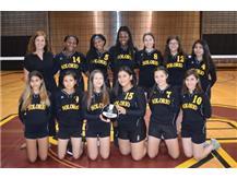 2018 JV Girls Volleyball
