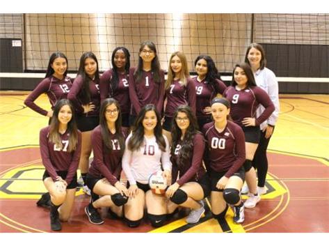2018 Varsity Girls Volleyball