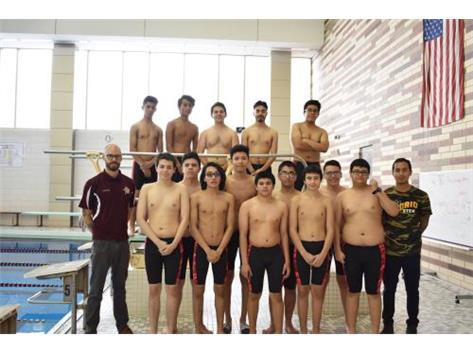2018-2019 Varsity Boys Swimming
