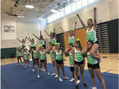 NCA Cheer Camp 2017