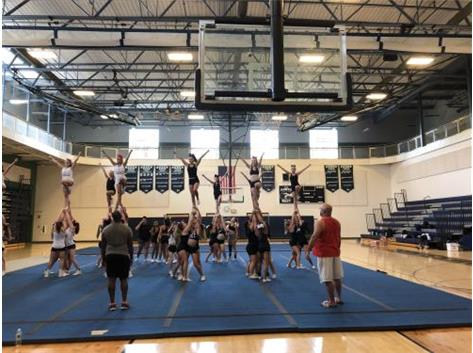 Cheer camp Fall 2019