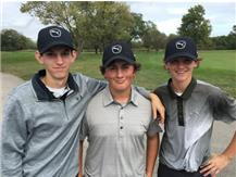 At the Sectional, David shot 84 while Marty and Michael shot 83, NICE;-)