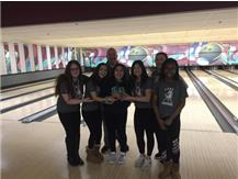 2017-18 SSC Red Girls Bowling Frosh/Soph Conference Champs!