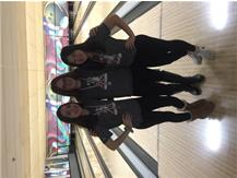 L-R: Jessalyn Torres (10th), Erin Knight (2nd), Macy Benson (6th)