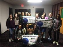 Thank you to our Seniors! Mea Hubbard, Krysten Mills, and Makhaila Jordan