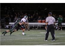 Dylan Kulovitz with a nice tackle!