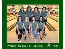 2019-20 Varsity Girls Bowling Team