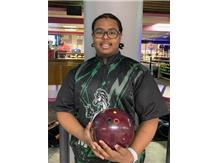 LeLand Rodriguez (Soph), 1st year on team, 161 ave., high game - 212, high series - 504