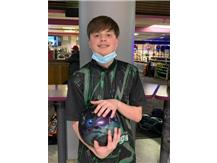 Danny Bruno (Fr), 1st year on team, 123 ave., high game - 171. high series - 419