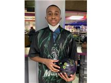 Malik StClair (Soph), 1st year on team, 141 ave., high game - 236, high series - 498