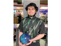 Jaden Gil (Jr), 3rd year on team, 174 ave., high game 238, high series 643