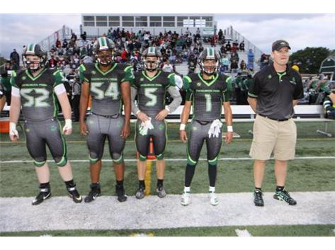 Coach Verde and his team captains