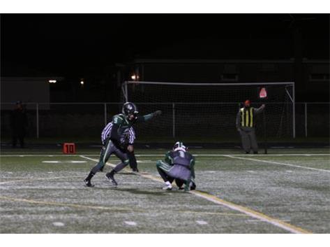 Nolan Bruce with a nice kick!
