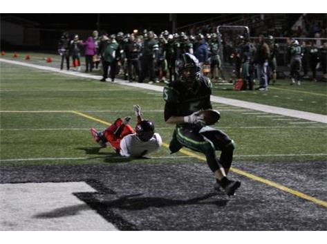 Sean Wilkinson with a touchdown!