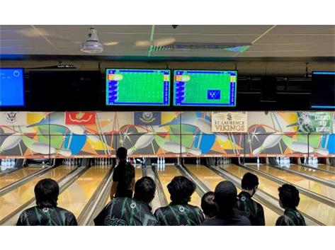 Matthew Summers setting the tone opening with a strike in the first frame