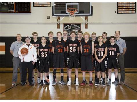 2018-19 JV Boys Basketball Team