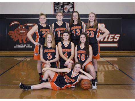 2018-19 JV Girls Basketball Team
