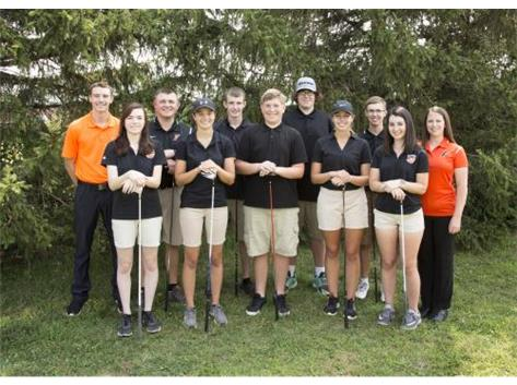 2018 Fisher Golf Team