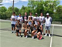 The Girls Patriot Tennis Team captured the 2018 State Title on Saturday May 12. This is the teams 14th Team Title and first since 2007.