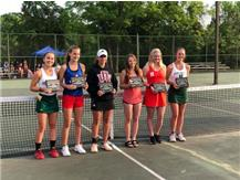 Jenin Al-Asadi captured the #1 Singles State Title and earned 2018 All State Honors at the 2018 State Tennis Tournament