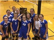 8th grade VB win Regional