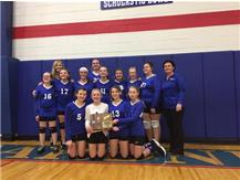 7th VB wins regional championship