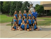 2016 Girls Varsity Tennis Team