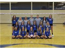 2016 Varsity Girls Volleyball Team