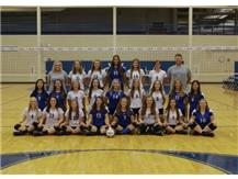 2016 Freshman Girls Volleyball Team