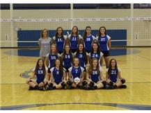 2016 Sophomore Girls Volleyball Team