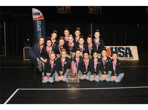 2015 State Dance Team Champs